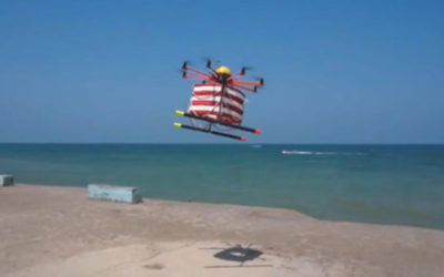 In spiaggia più sicuri grazie ai droni bagnini