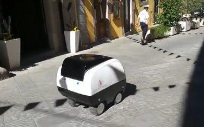 Il carrello della spesa robot è realtà a Peccioli in provincia di Pisa