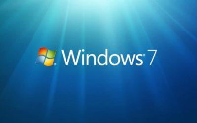 Windows 7 si avvia alla fine