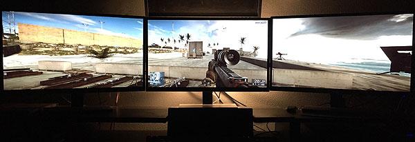 Monitor Gaming: utilizzarne due insieme frequenza d'aggiornamento e risoluzione