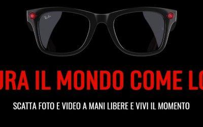 Ray-Ban Stories: gli occhiali da sole per eccellenza si fanno smart